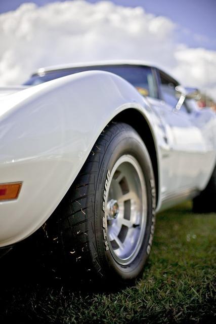 Corvette racing car roadster, transportation traffic.