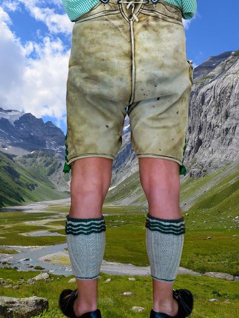 Costume leather pants bavaria.