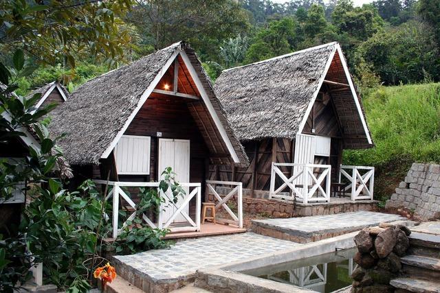 Cottage house building, architecture buildings.