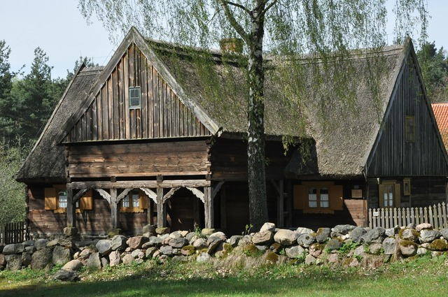 Cottage open air museum village.