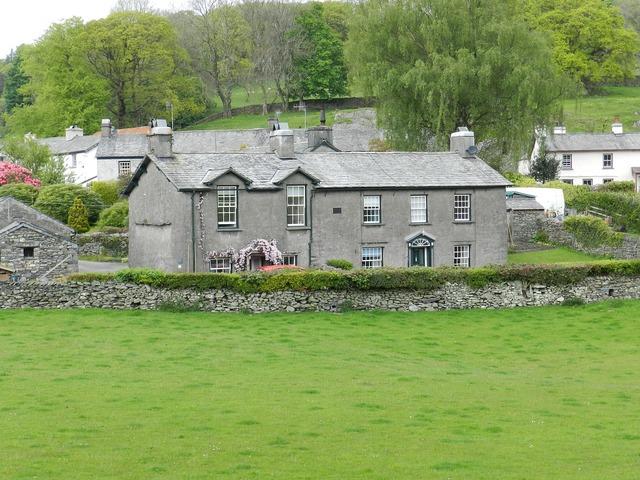 Cottages village cottage, architecture buildings.
