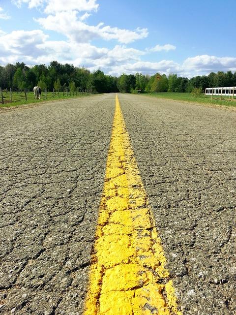 Country road asphalt, transportation traffic.