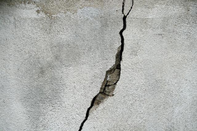 Crack wall concrete, backgrounds textures.