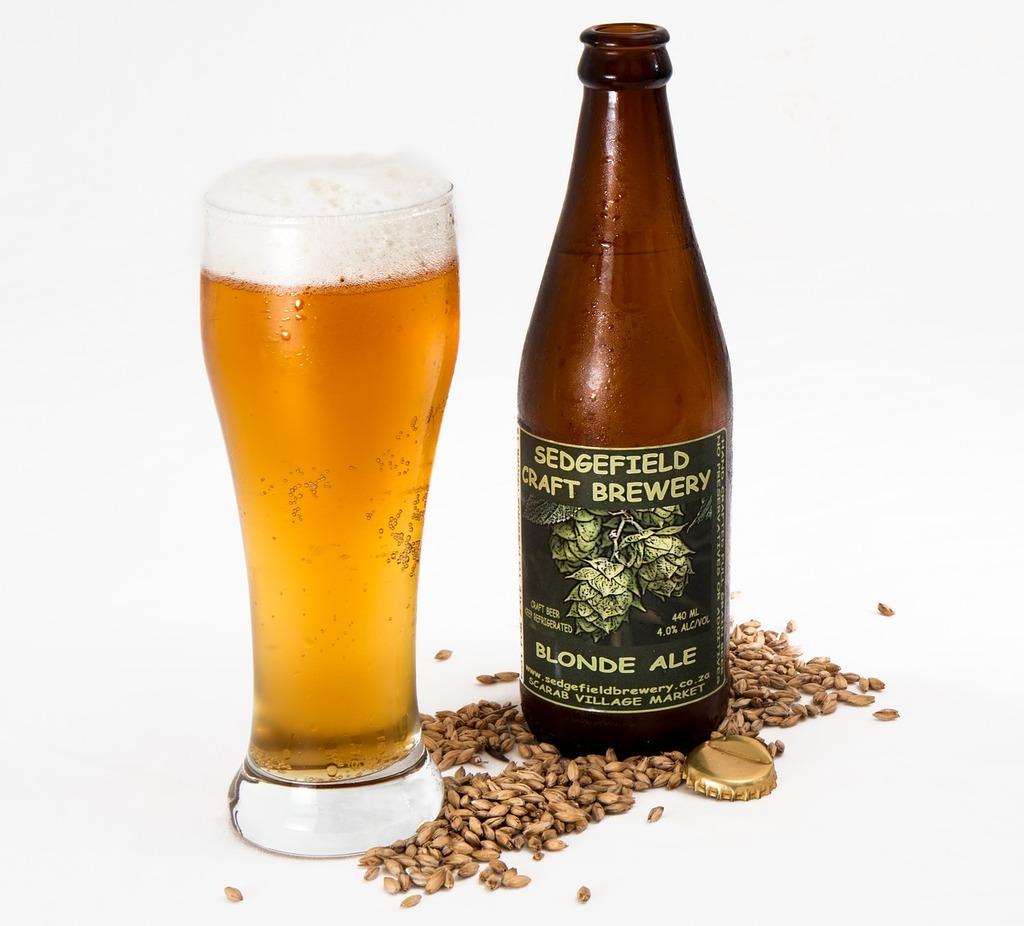 Craft beer ale brewery, food drink.