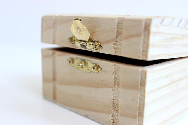 Craft wooden treasure, industry craft.