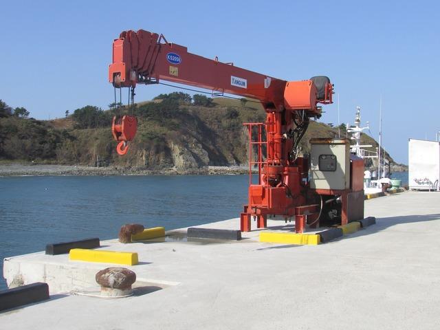 Crane coastal battery, travel vacation.