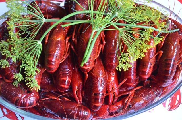 Crayfish late summer crayfish party.