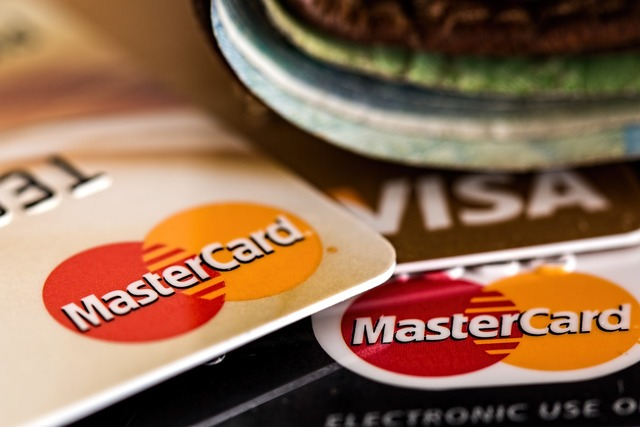 Credit card master card visa card, business finance.