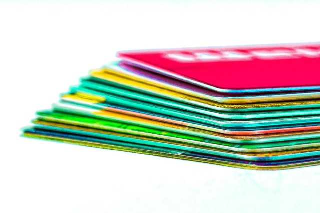 Credit cards check cards ec cards.