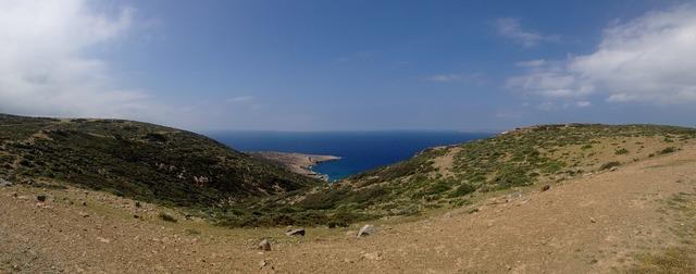 Crete mountains sea.