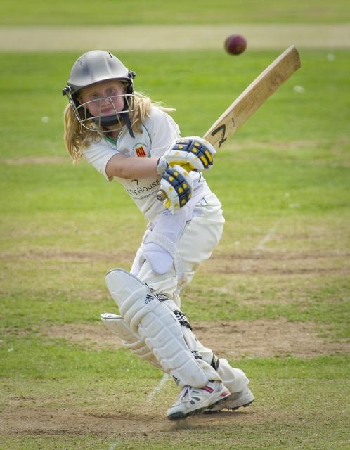Cricket batting batter, people.