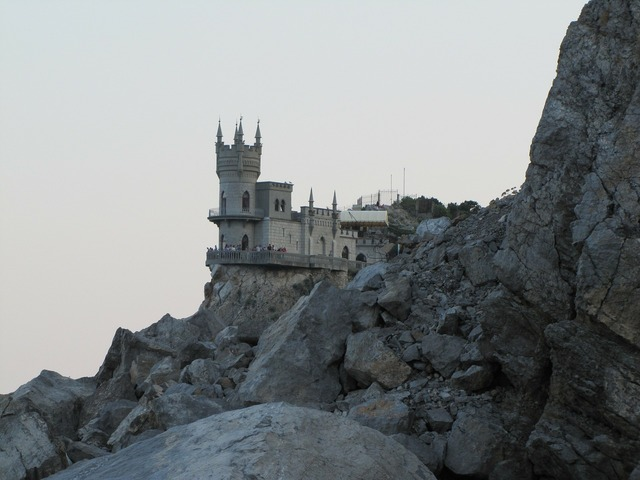 Crimea rocks swallow's nest.