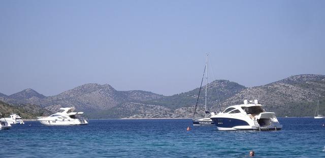 Croatia nin boot, travel vacation.