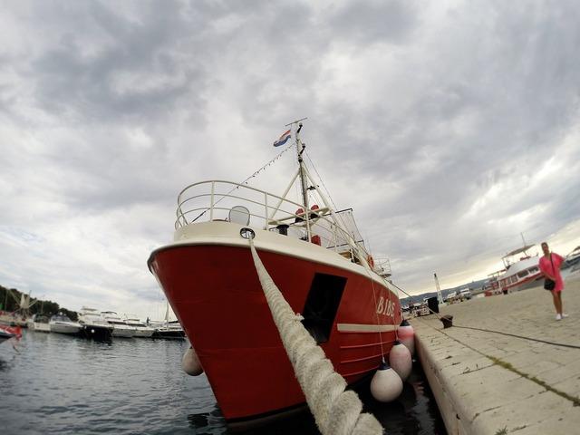 Croatia ship sea.