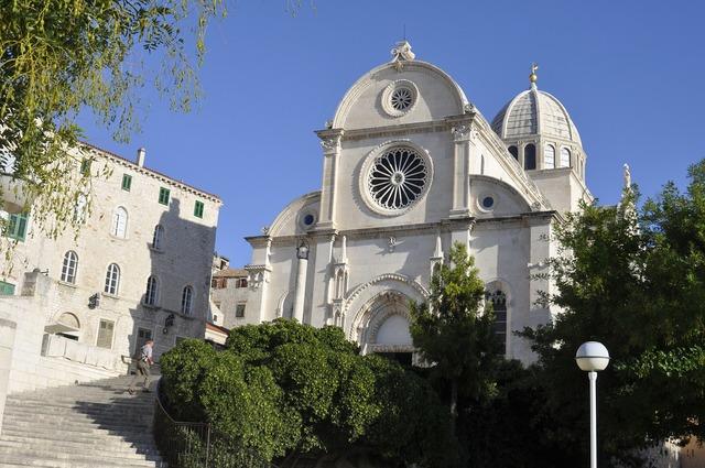 Croatia sibenik church, religion.