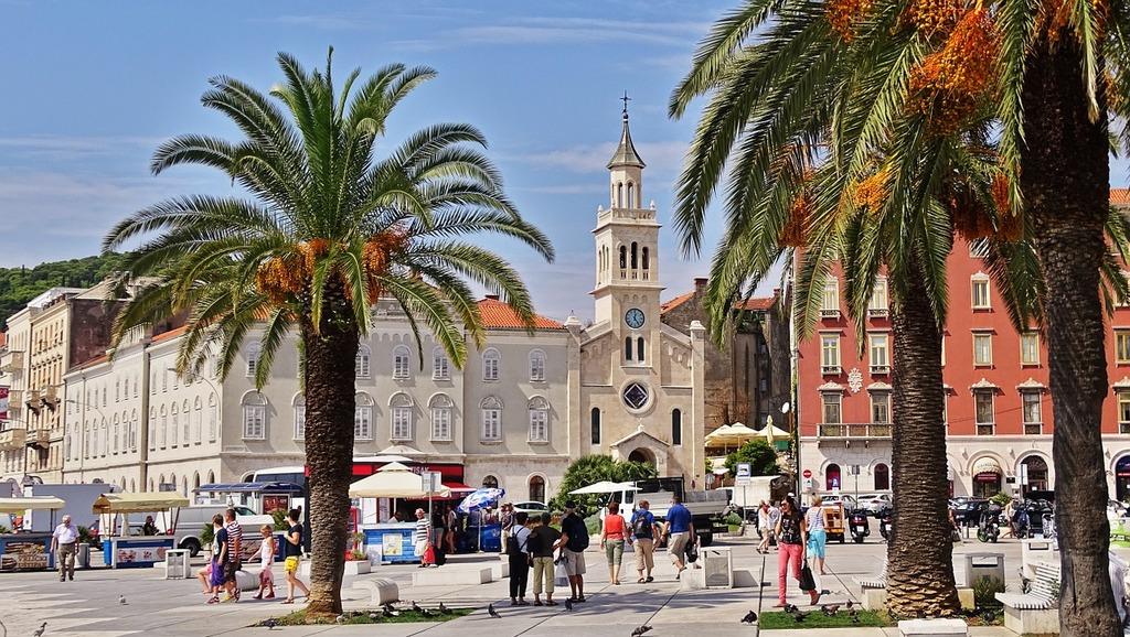 Croatia split old town.