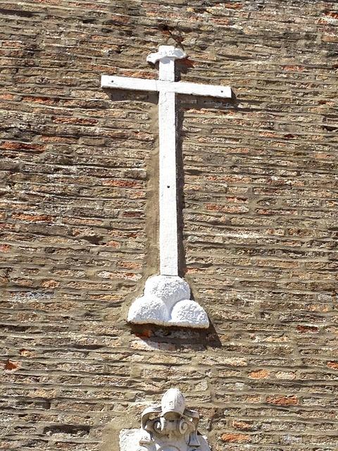 Cross church italy, religion.