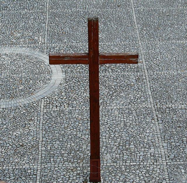 Cross church wood, religion.