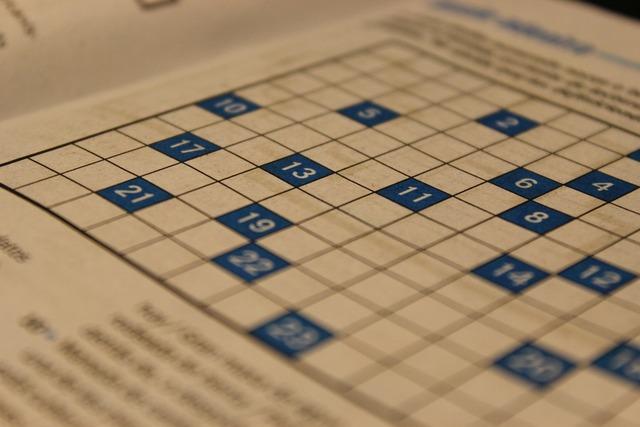 Crossword puzzle games paper.