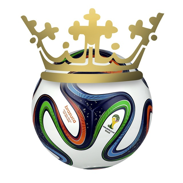 Crown football world cup, sports.
