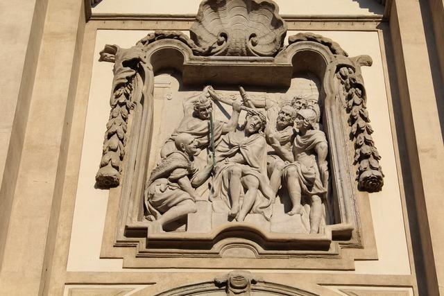 Crucifixion sculpture m, religion.