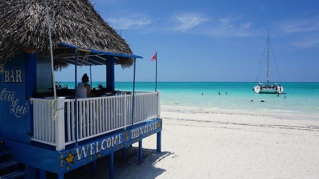 Cuba cayo coco playa pilar, travel vacation.