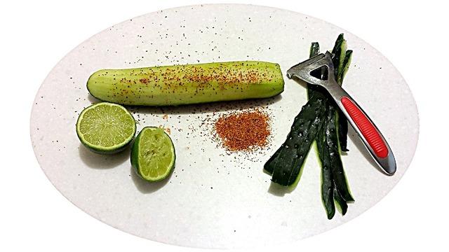 Cucumber cuke organic, food drink.