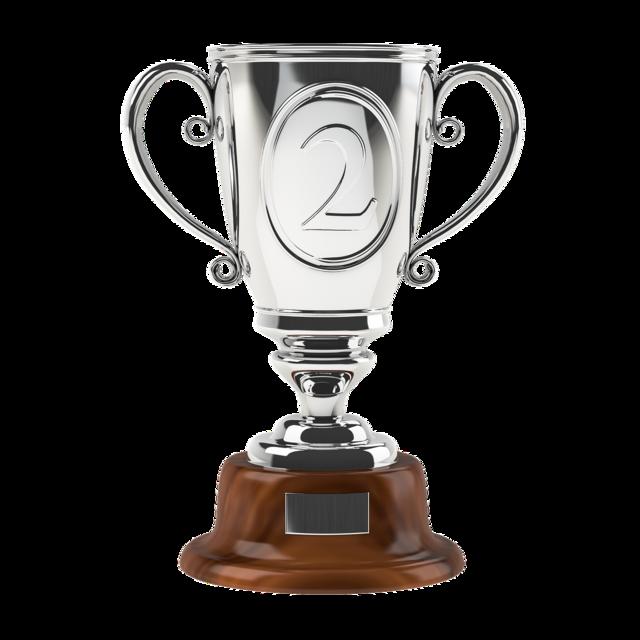 Cup champion award.