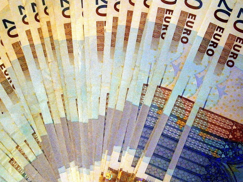 Currency euro money, business finance.