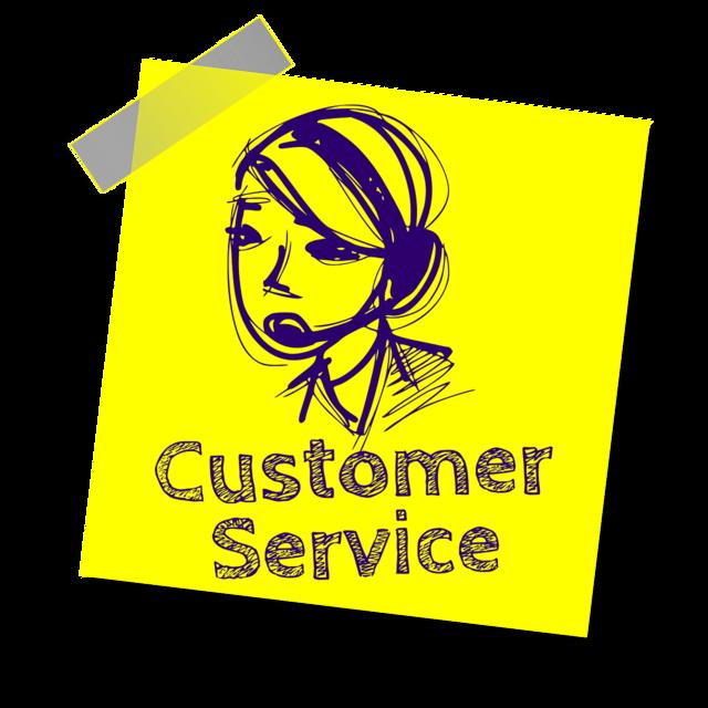 Customer service service headset.