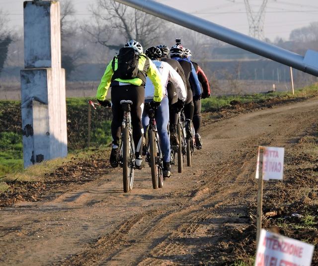 Cyclist bicycle sports, transportation traffic.