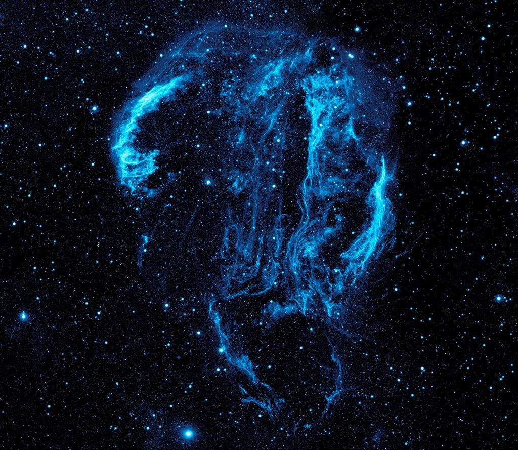 Cygnus loop nebula space dust, science technology.