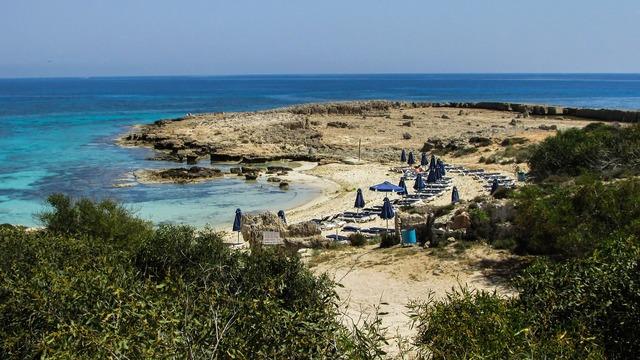 Cyprus ayia napa cove, travel vacation.