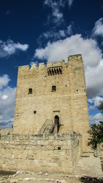 Cyprus kolossi castle, places monuments.