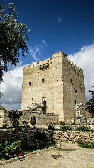Cyprus kolossi castle, places monuments.