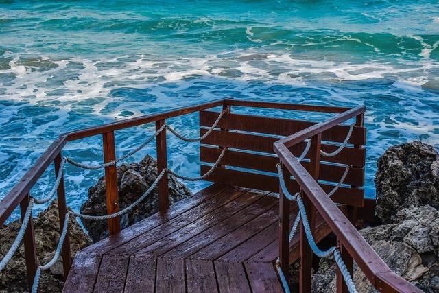 Cyprus konnos bay jetty, travel vacation.