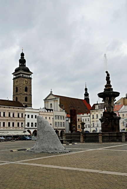 Czech budejovice square shark fin.