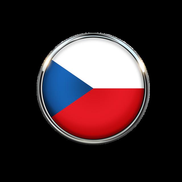 Czech republic flag circle, backgrounds textures.