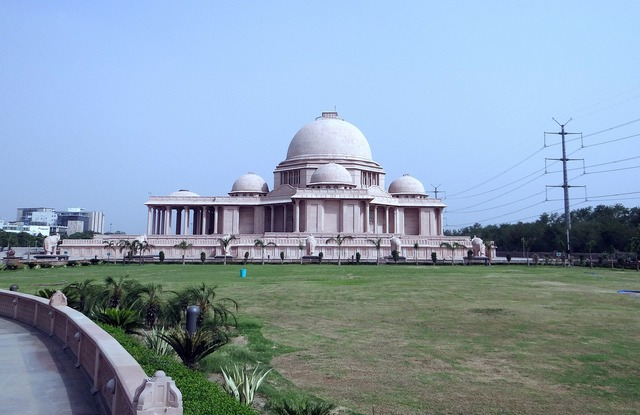 Dalit prerna sthal memorial sandstone.