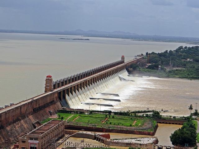 Dam tungabhadra river.