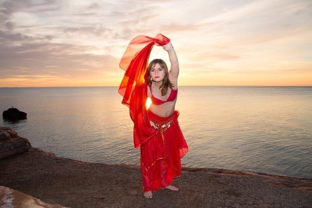 Dance model eastern, sports.