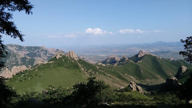 Daqingshan inner mongolia mountains.