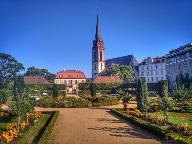 Darmstadt hesse germany, religion.
