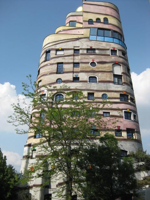 Darmstadt waldspirale hundertwasser.