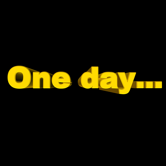 Day one day font.