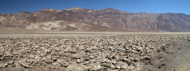 Death valley california low.