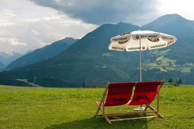 Deckchair austria double deckchair.