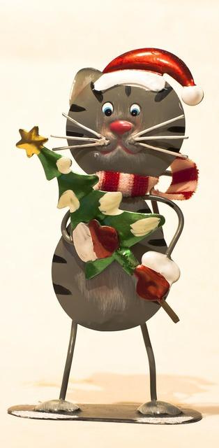 Decoration mitbringsel christmas, animals.