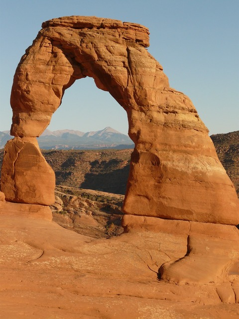 Delicate arch arches national park usa.