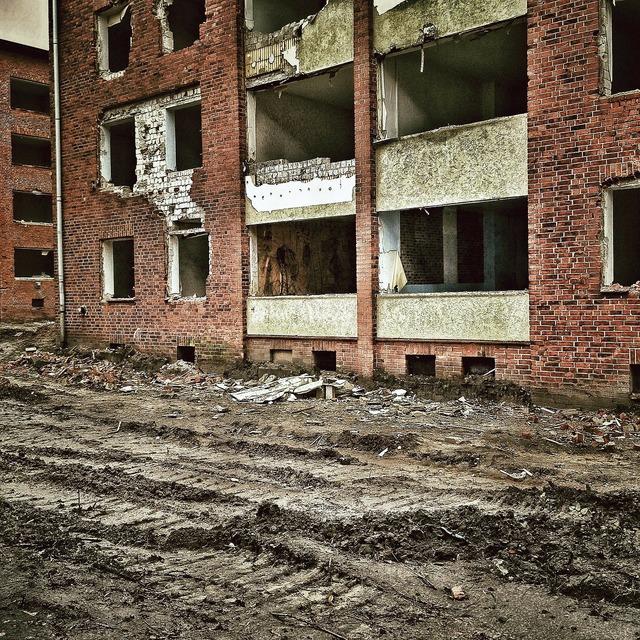 Demolition ruin decay, architecture buildings.